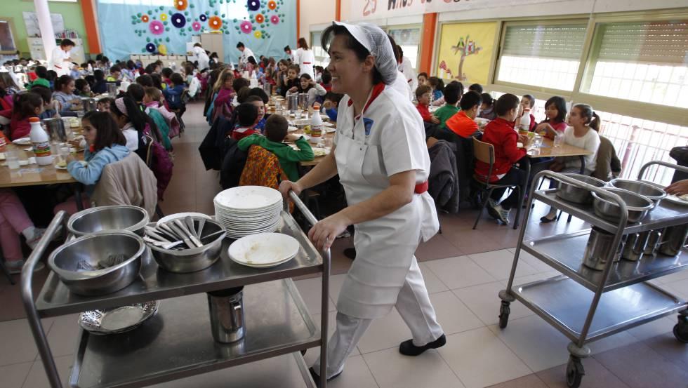 La Comunidad gasta el 14% del presupuesto disponible para comedores ...