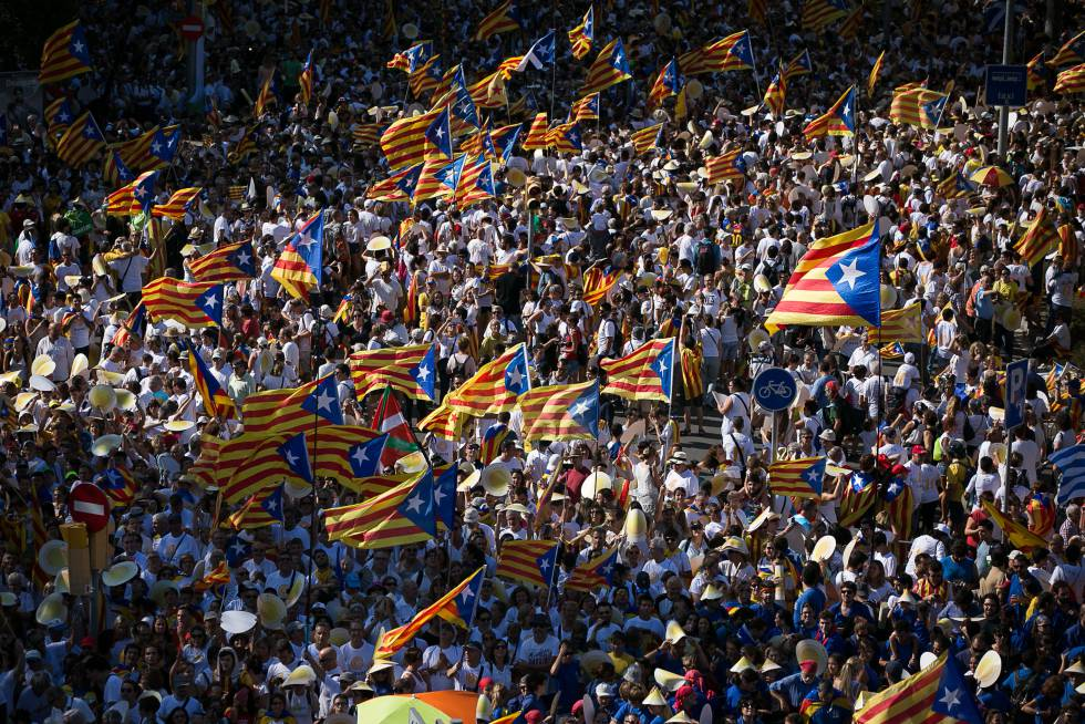 Celebrations for the 2016 Catalan National Day.