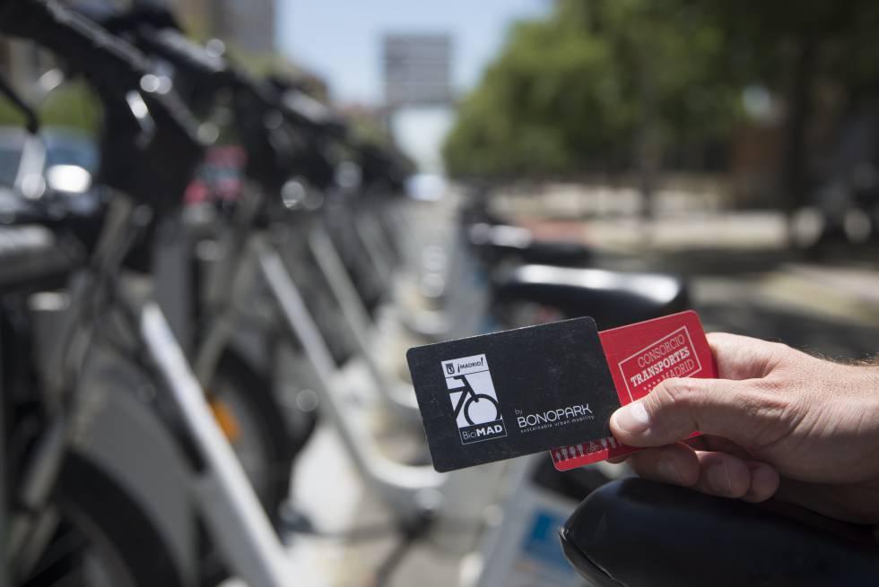 Bicimad se integra en octubre en las tarjetas de for Oficina del consorcio de transportes de madrid