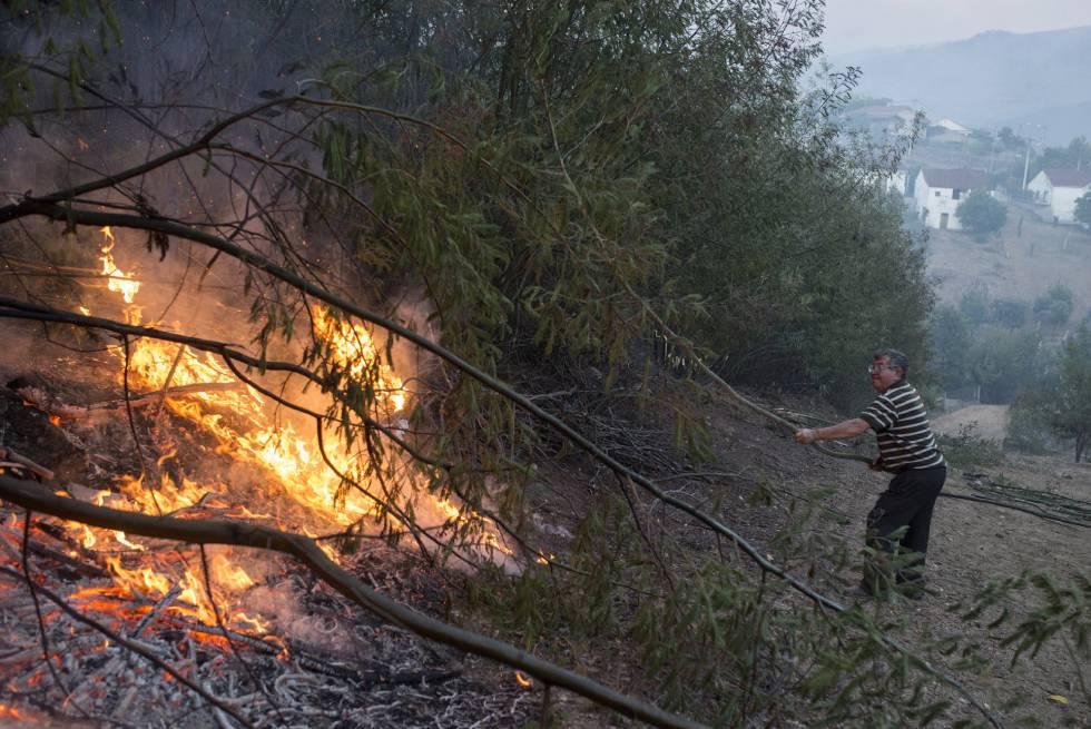 La conselleira de Medio Rural dice que el incendio de Vern fue