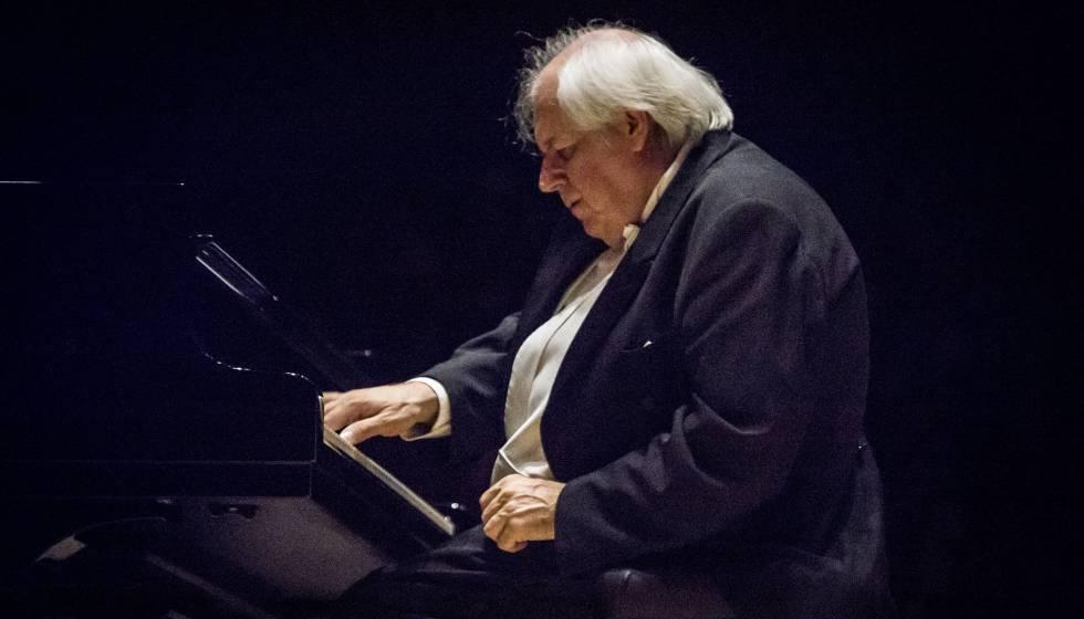 El pianista ruso Grigory Sokolov en el concierto del Festival de Torroella de Montgrí.
