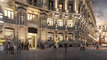 El edificio tiene fachadas del siglo XIX y es bien de interés cultural.
