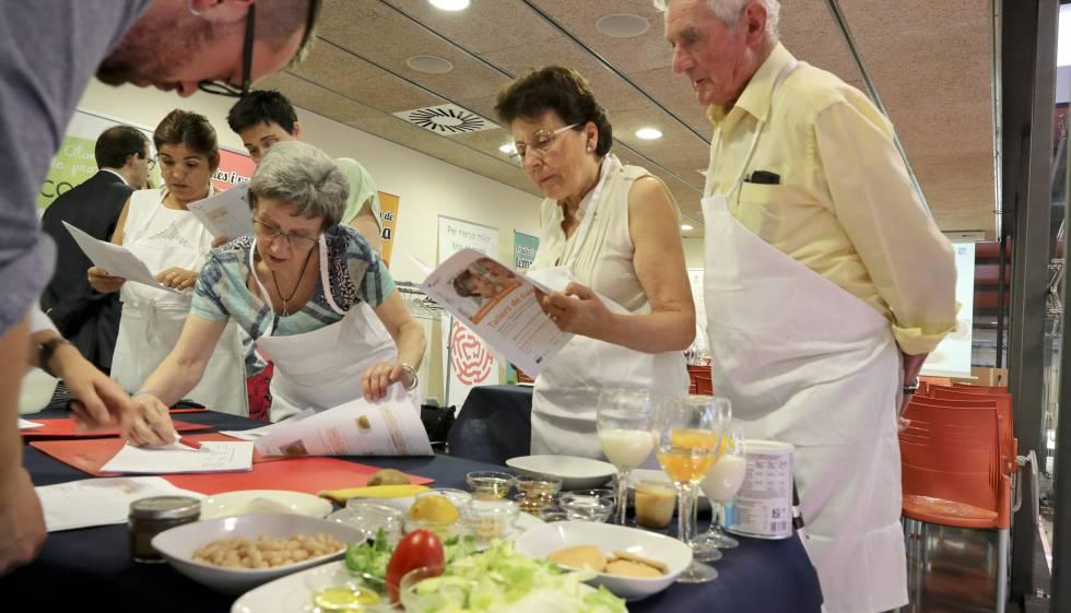 Talleres de cocina para quien no puede tragar | Cataluña | EL PAÍS