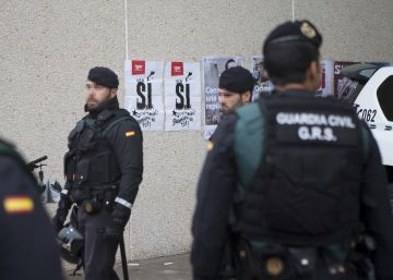 La Guardia Civil interviene material del 1-O en Sabadell