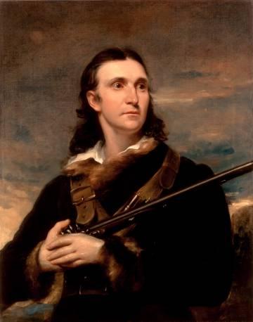 El Audubon real, en un retrato de la época.
