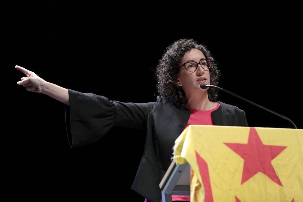 La diputda por ERC, Marta Rovira.