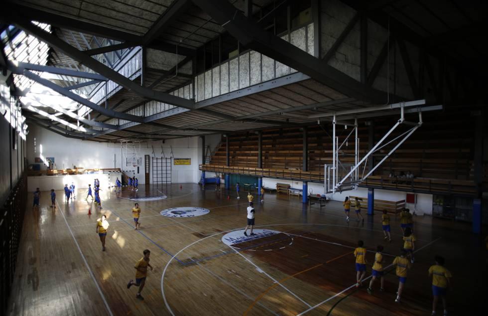 patrimonio protege el gimnasio del colegio maravillas