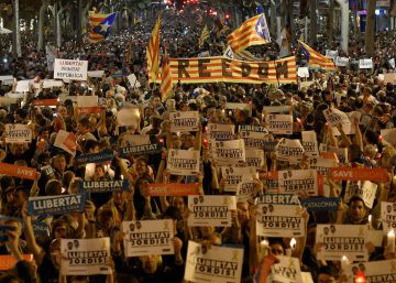 Imprisonment of Catalan independence leaders gives movement new momentum