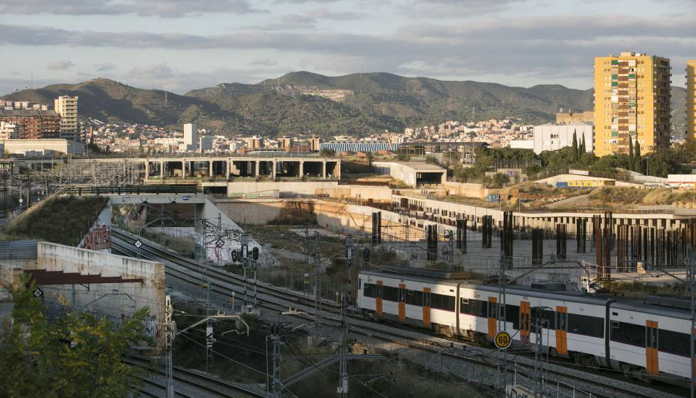 Las obras de la Sagrera se reanudaron en julio pasado tras tres años paradas.