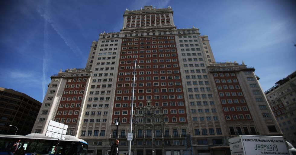 Arrancan Las Obras De Reforma Del Edificio Espana Madrid El Pais