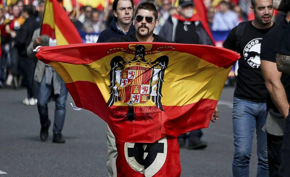 Barcelona no autorizará pantallas o tarimas en marchas de ultraderecha |  Cataluña | EL PAÍS