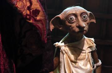 Una figura del elfo doméstico Dobby.