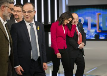 Battle lines drawn as parties face off in intense first Catalan election debate