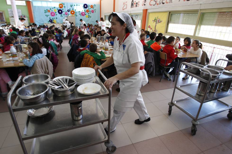 Las becas de comedor llegan a 100.000 alumnos, pero aún son menos ...
