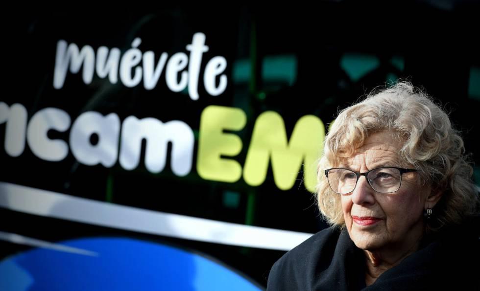 Madrid estrena una línea de autobuses 100% eléctricos con recargas sin contacto