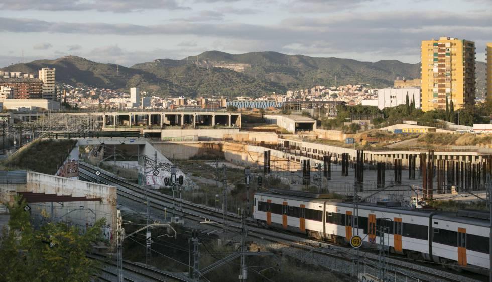 Adif reanuda las obras de la estación de La Sagrera   Cataluña   EL PAÍS