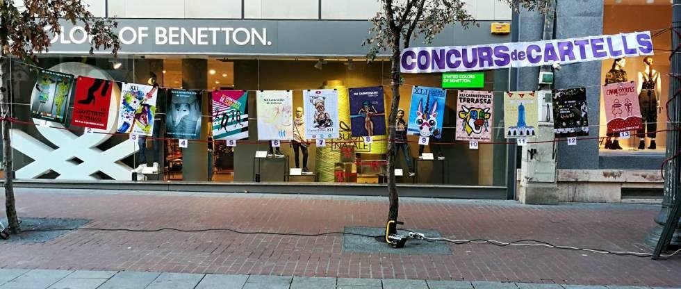 Imagen de la página de Facebook de La Confraria Mascarada donde se ven los carteles que participaban en la votación popular.