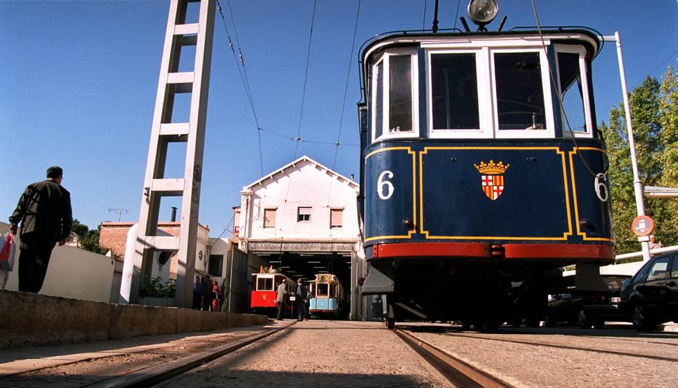 Imagen de archivo de 2001 del Tranvía Blau