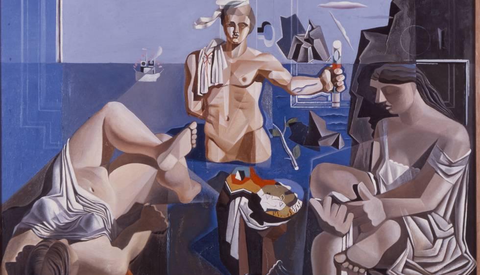'Academia neocubista', de Dalí