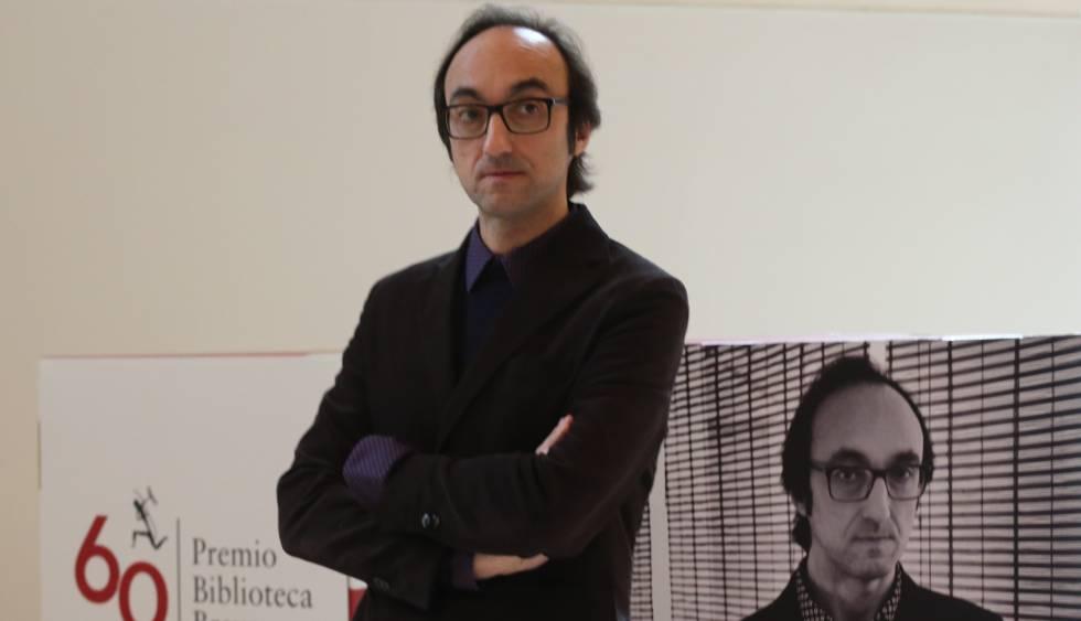 Agustín Fernández Mallo, este lunes.