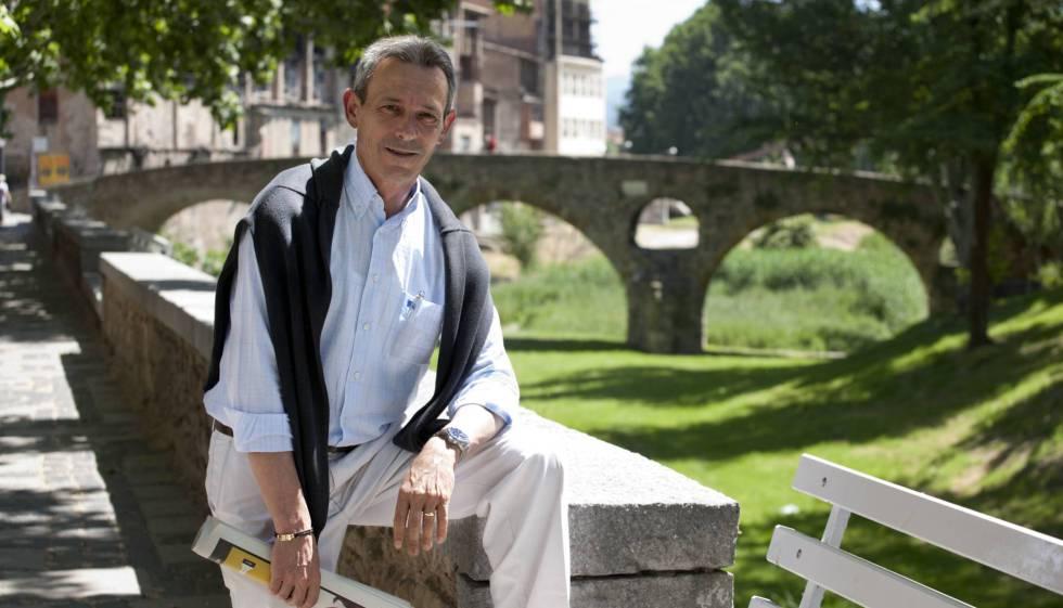 L'exlíder de PxC Josep Anglada, a Vic, el 2011.