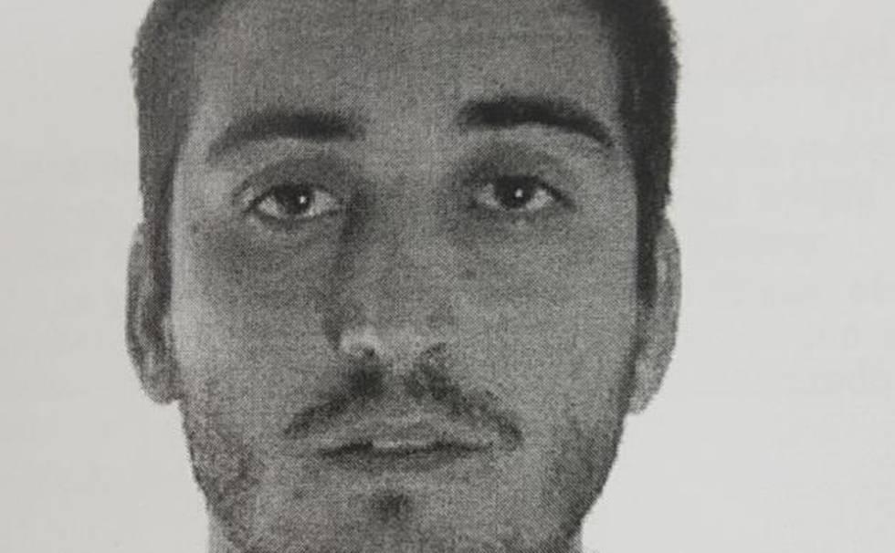 Fotografía del agresor distribuida por la policía para facilitar su detención.