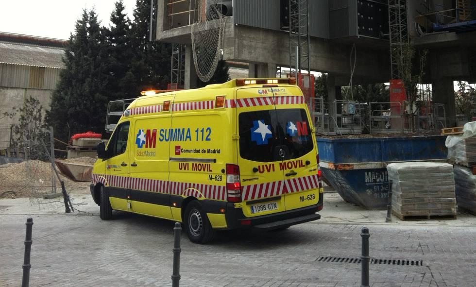 Una ambulancia del Summa, en una imagen de archivo.