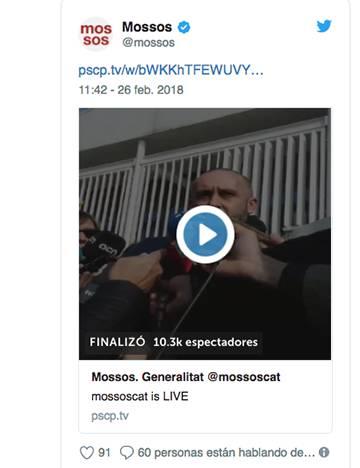 Detenido el presunto autor del doble crimen del pantano de Susqueda