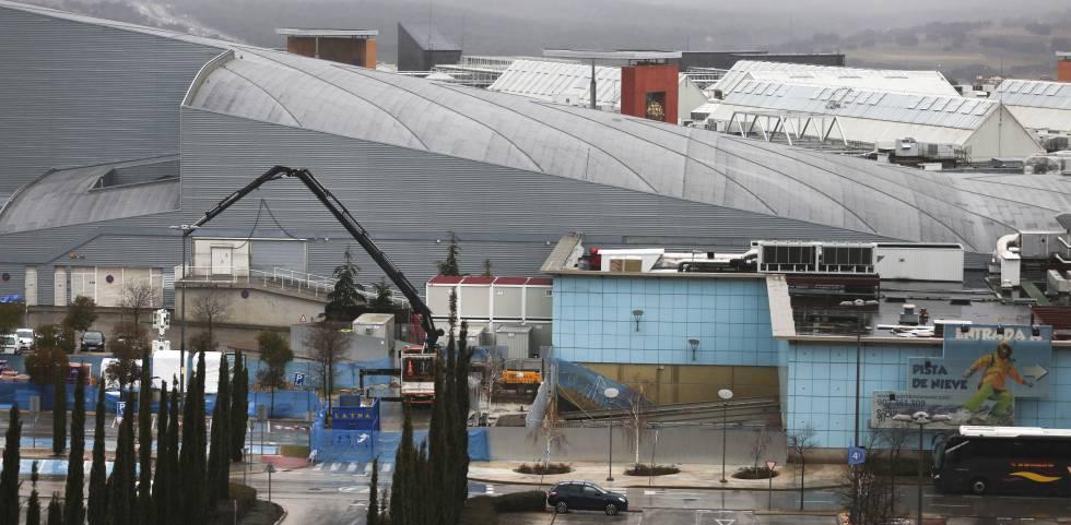 Recinto del centro comercial Xanadú en el que está prevista la apertura del acuario Atlantis.