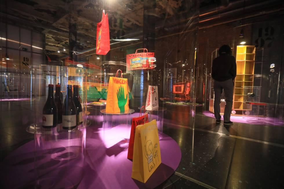 Rincón de la exposición que se celebra en Matadero.