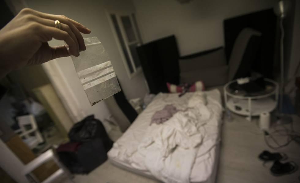 Una vivienda que acaba de ser tratada contra los chinches en Malasaña.