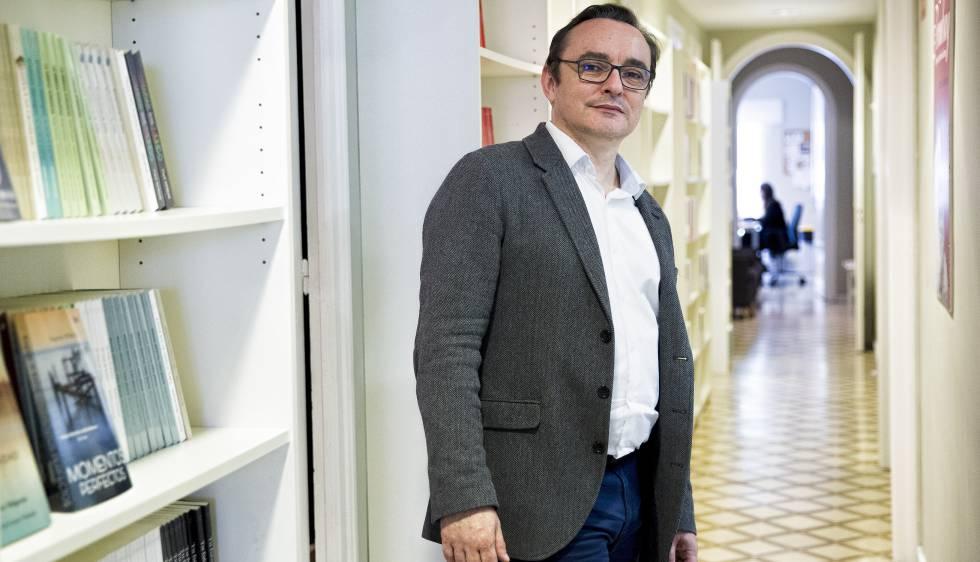 Vincent Monadé, en Plataforma, donde publica 'Cómo hacer leer a los hombres de tu vida'.