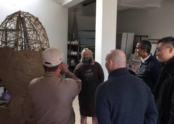 Resultado de imagen de El artista castellonense Juan Ripollés expone en un museo XXL de Pekín