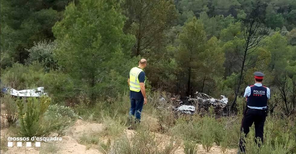 Una avioneta se estrella en Flix y mueren sus tres ocupantes ...
