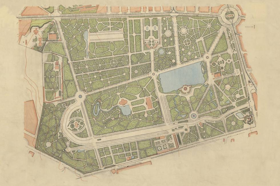 Plano Parque Del Retiro Mapa.El Pais Celebra Una Gran Yincana Literaria En El Retiro