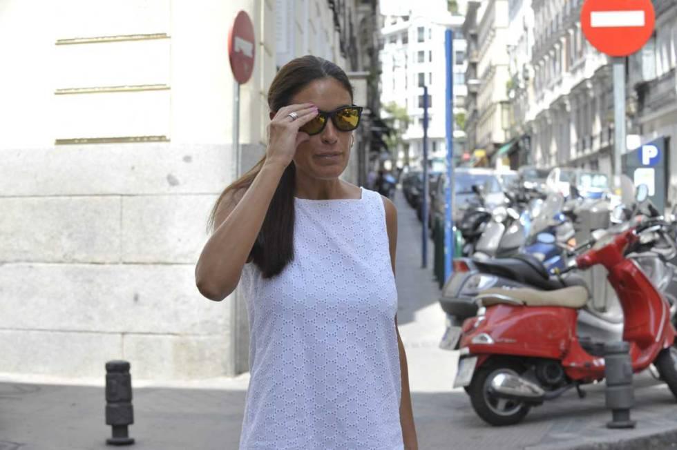 Isabel Rábago, en julio de 2016 en Madrid.