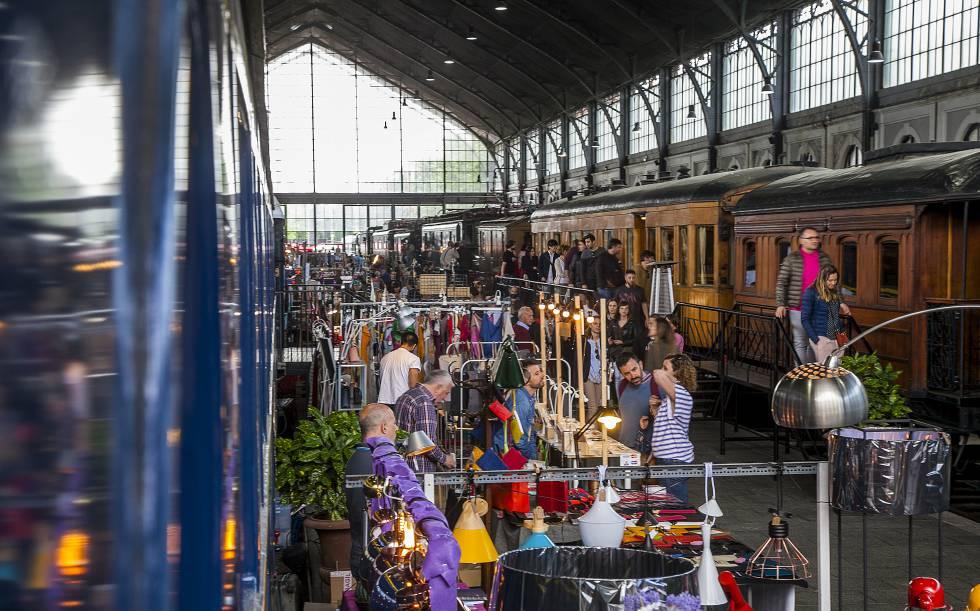 """Résultat de recherche d'images pour """"mercado del ferrocarril madrid"""""""