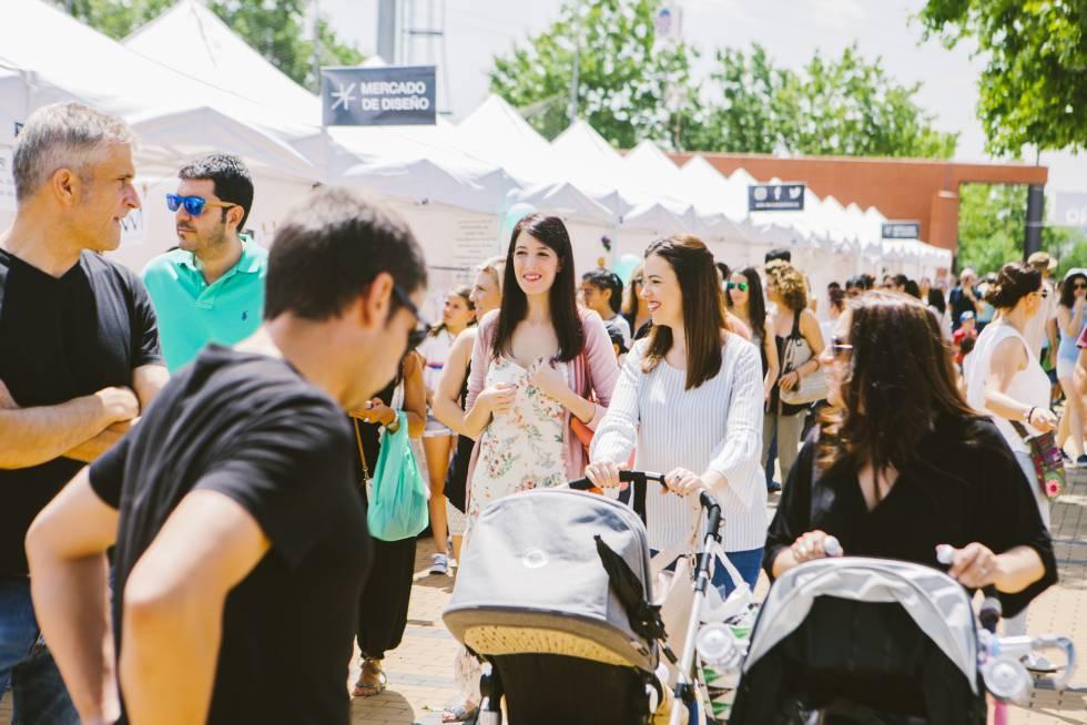 Mercado de Diseño de Las Rozas en una foto facilitada por la organización.