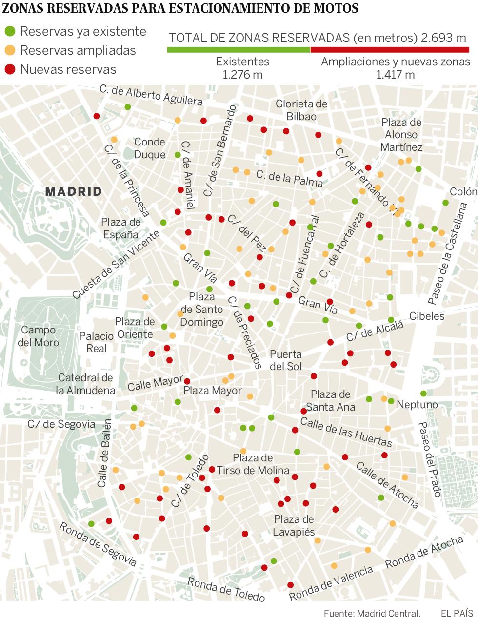 Zona Ser Madrid Mapa 2019.Madrid Prohibira En Noviembre El Acceso Y El Aparcamiento En