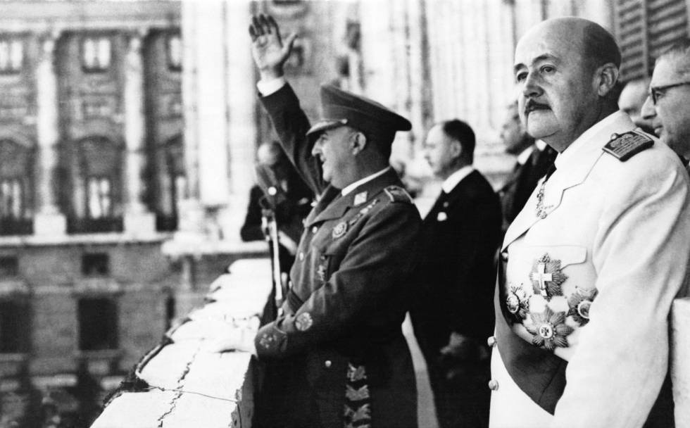 Francisco Franco en 1949.
