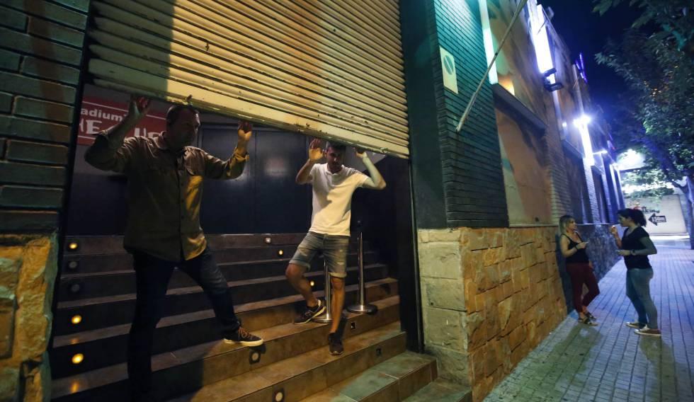 La Zona Hermética De Sabadell Baja La Persiana Cataluña El País