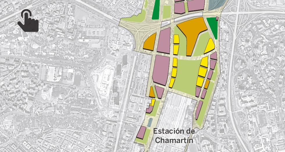 Gráfico: Planificación del suelo en Madrid Nuevo Norte