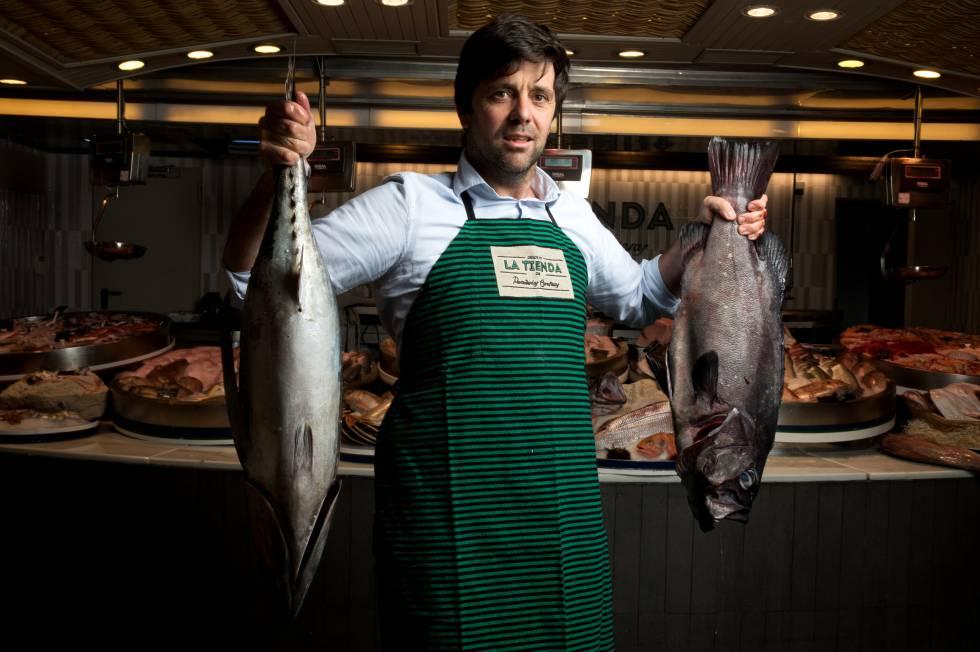 DAVID GARCÍA . Al frente de Pescaderías Coruñesas, distribuye pescados y mariscos a restaurantes como DiverXO, Filandón, Albada, O Pazo y El Pescador.