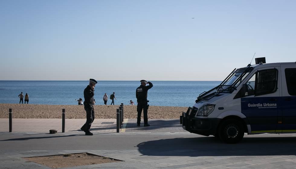 Detenidos Barceloneta
