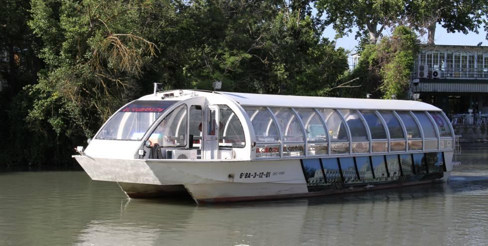 Foto promocional del barco 'Curiosity' de Aranjuez.