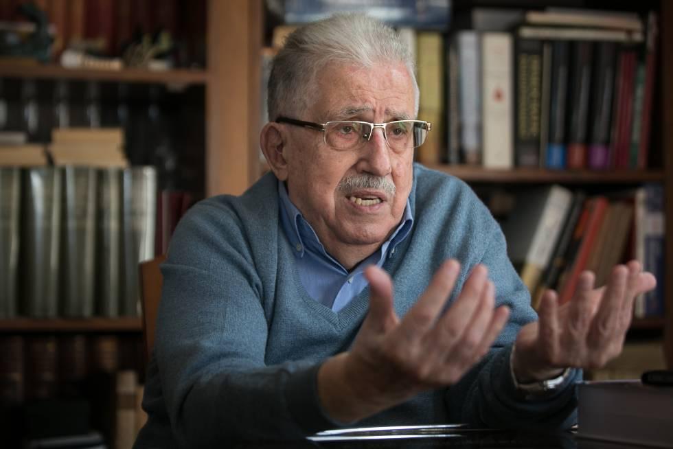 Josep Fontana en una entrevista en 2017.