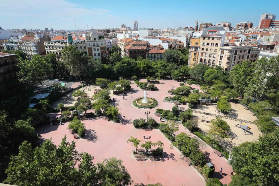 El entorno de la plaza de olavide ser peatonal madrid - Zona chamberi madrid ...