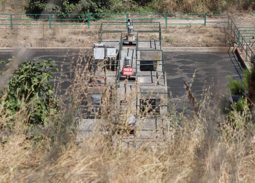 Imagen de la depuradora de Húmera, en Pozuelo de Alarcón.