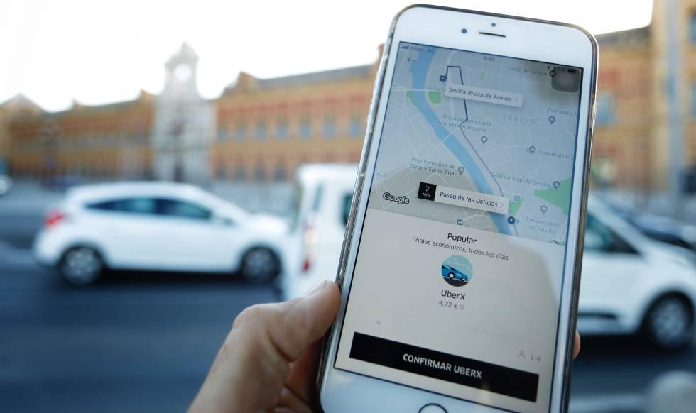 469c581fed0 Uber empieza a circular en Sevilla | Andalucía | EL PAÍS