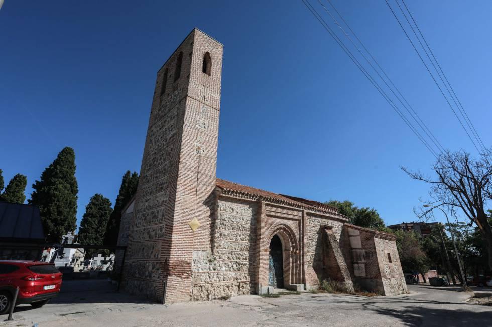La ermita de Santa María La Antigua, en el distrito de Carabanchel.